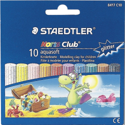 фото Пластилин STAEDTLER Noris Club Aquasoft 8417 C10