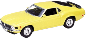 фото Масштабная модель Welly Ford Mustang 1970 1:34-39 49767