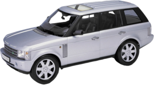 фото Масштабная модель Welly LR Range Rover 1:18 12536