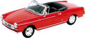 фото Масштабная модель Welly Peugeot 404 Cabriolet 1:34-39 43604