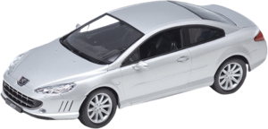 фото Масштабная модель Welly Peugeot Coupe 407 1:24 22475
