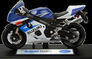 фото Масштабная модель Welly Suzuki GSX-R750 1:18 12803P