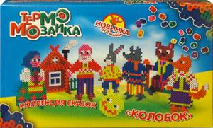 Фото настольной игры ЭРА ТермоМозаика Колобок 21072