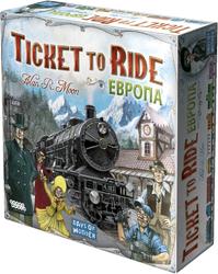 Фото настольной игры Мир Хобби Ticket to Ride: Европа
