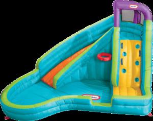 Фото горки Little Tikes Надувной центр с мини-бассейном 621437
