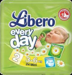Libero Everyday Mini 3-6 кг 24 шт SotMarket.ru 410.000