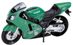 фото Масштабная модель Welly Kawasaki Ninja ZX-12R 1:18 12167P