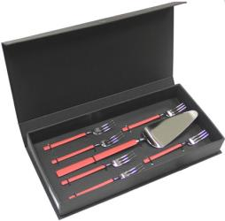 Фото набора столовых предметов HERDMAR VINTAGE EPT RED 1485007TV00E16