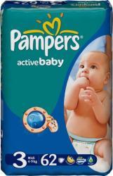 Pampers Active Baby Midi 4-9 кг 62 шт SotMarket.ru 1450.000