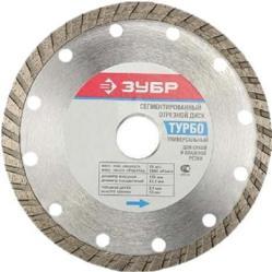 фото Отрезной диск ЗУБР 36652-230