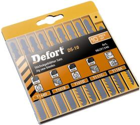 Фото набора пилочек DeFort DS-10