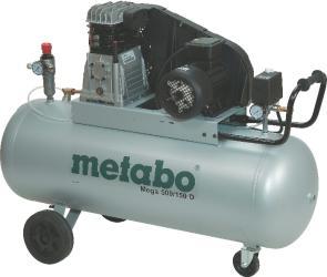 Фото поршневого компрессора Metabo MEGA 500/150 D