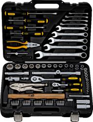 Фото набора инструментов BERGER BG-078-1214 78 предметов для автомобиля