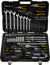 Фото набора инструментов BERGER BG151-1214 151 предмет для автомобиля