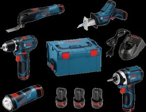 Фото набора инструментов Bosch 0.615.990.EX4 10 предметов