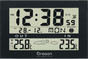 Фото настенных электронных часов Oregon Scientific JW103