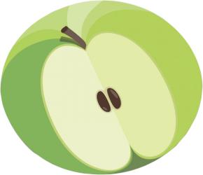 Разделочная доска Joseph Joseph Apple Slice