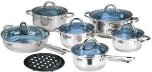 Фото набора посуды CALVE CL-1086 из нержавеющей стали