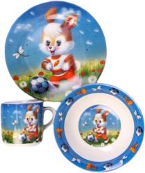 Фото набора посуды Оселя Зайчик