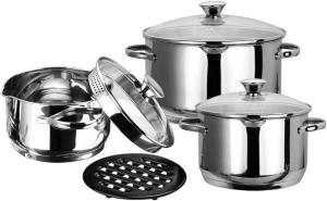 Фото набора посуды Vitesse VS-1561 из нержавеющей стали
