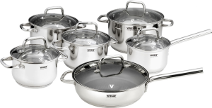 Фото набора посуды Vitesse VS-1592 из нержавеющей стали