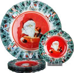 Набор тарелок Korall Новогодняя сказка S3000E/7-Z11 SotMarket.ru 580.000