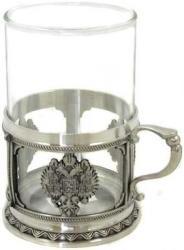 Фото белой кружки Русские подарки Царский герб 55022