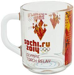 Фото кружки Sochi 2014 Олимпийский огонь красный 5550108