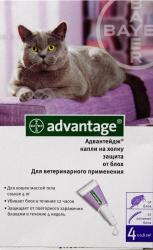 Капли на холку Bayer Advantage 80 К для кошек от 4 кг SotMarket.ru 1160.000