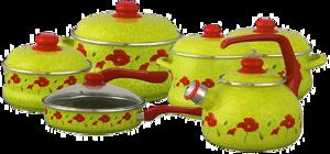 фото Набор посуды Metrot Маки 2075 083173