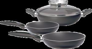 фото Набор посуды Pensofal Bioceramix Platino Set 4 PEN8650