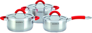 фото Набор посуды SUPRA HITOMI red SHS-N0656Kit red