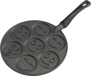 фото Сковорода Nordic Ware Smiley Face Pancake Pan 01920