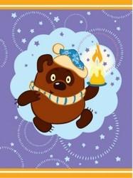 фото Плед Непоседа Союзмультфильм Винни Пух Зимняя история 175724