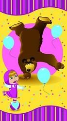 фото Полотенце Непоседа Маша и Медведь Акробаты 170033
