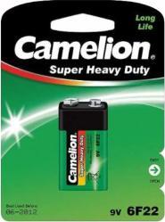 Фото аккумуляторной батарейки Camelion 6F22-BP1G