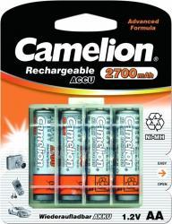Фото аккумуляторной батарейки Camelion NH-AA2700BHC4 2700mAh
