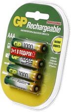 Фото аккумуляторной батарейки GP 100AAAHC-C4 1000 mAh