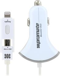 фото Универсальное автомобильное зарядное устройство Promate Booster-Duo