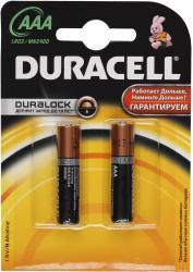 Фото элементов питания Duracell LR03-2BL Basic