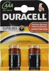 фото Батарейки Duracell LR03-4BL Basic