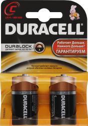 Фото элементов питания Duracell LR14-2BL