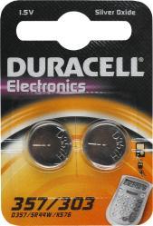 фото Батарейки Duracell LR357/303-2BL