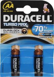 Фото элементов питания Duracell LR6-2BL Turbo