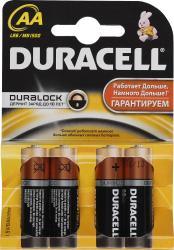 фото Батарейки Duracell LR6-4BL Basic