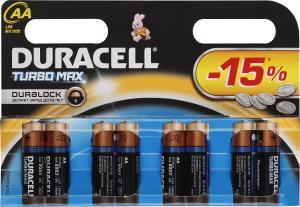 Фото элементов питания Duracell LR6-8BL Turbo
