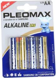 Фото элементов питания Samsung Pleomax LR6-4S