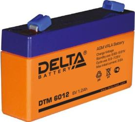 фото Аккумулятор Delta DTM 6012