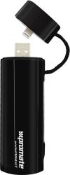 Фото зарядки c аккумулятором для Apple iPhone 5S Promate pocketMate.LT