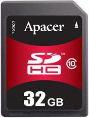 Фото флеш-карты Apacer SD SDHC 32GB Class 10 Industrial AP-ISD32GID4B-2CM